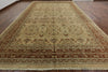 12 X 18 Light Brown Peshawar Chobi Rug - Golden Nile