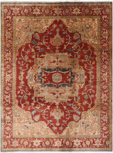 "Serapi Area Rug - 8' 9"" X 11' 10"" - Golden Nile"