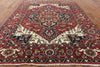 9 X 12 Red Heriz Serapi Rug - Golden Nile