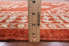 "Signed Peshawar Hand Knotted Rug - 5' 8"" X 7' 9"" - Golden Nile"