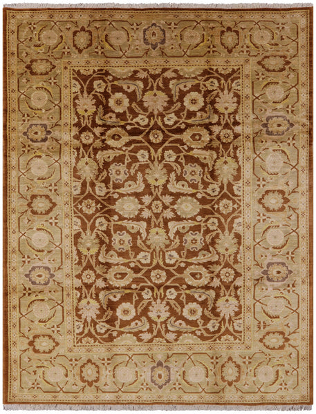 "Hand Knotted Serapi Rug - 8' 10"" X 11' 8"" - Golden Nile"