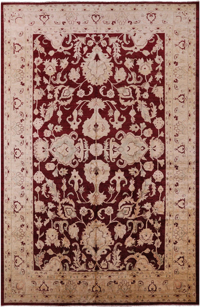 Peshawar Hand Knotted Area Rug - 12' X 18' - Golden Nile