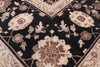 8 X 10 Black European Design French Peshawar Rug - Golden Nile