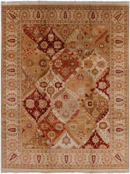 8 X 10 Peshawar Hand Knotted Area Rug