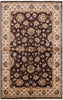 6 X 9 Brown Chobi Wool Rug - Golden Nile