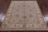 5 X 6 Peshawar Grey/Off-White Rug