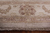 5 X 6 Peshawar Grey/Off-White Rug - Golden Nile