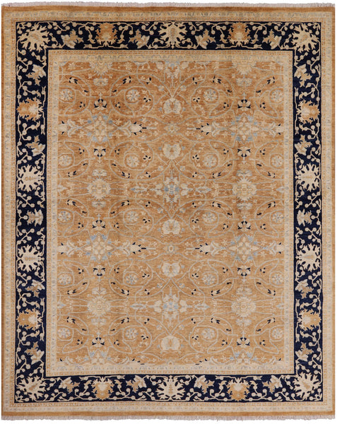 Peshawar Collection Oriental Rug 8 x 10 - Golden Nile