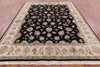 Wool & Silk Rajasthan Rug 8 X 10 - Golden Nile
