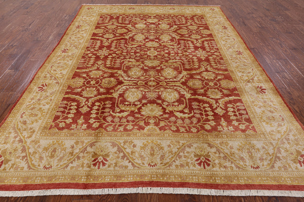 8 X 10 Hand Knotted Peshawar Rug -  Golden Nile