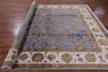 "Rajasthan Wool & Silk Rug - 8' 1"" X 10' 1"" - Golden Nile"