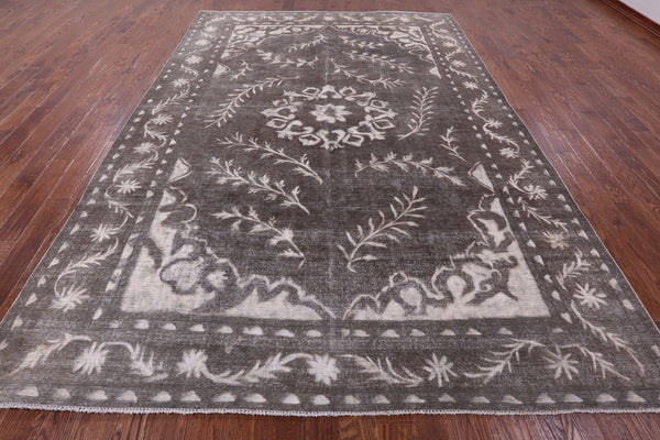 9 X 13 Hand-Knotted Overdyed Wool Rug -  Golden Nile