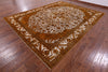 Oriental Tabriz Overdyed Wool Rug 10 X 12 -  Golden Nile
