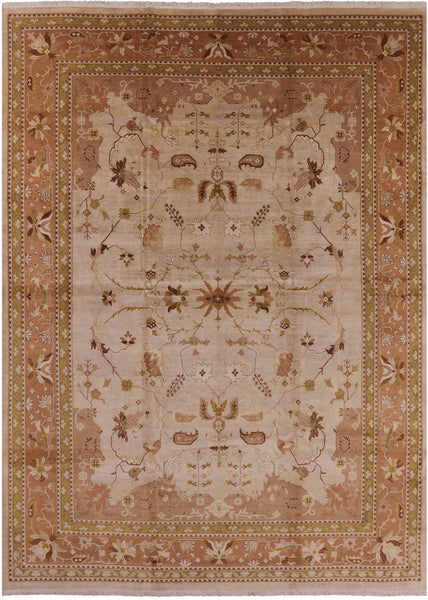 "Peshawar Hand Knotted Rug - 10' 3"" X 14' 1"" - Golden Nile"