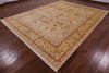 "Peshawar Hand Knotted Area Rug - 9' 2"" X 11' 9"" - Golden Nile"