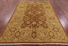 "Signed Fine Serapi Rug - 6' 3"" X 8' 10"" - Golden Nile"
