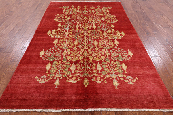 Ziegler Collection Red Rug 6 X 8 -  Golden Nile