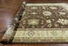 Oriental Brown Chobi Rug 10 X 14 -  Golden Nile