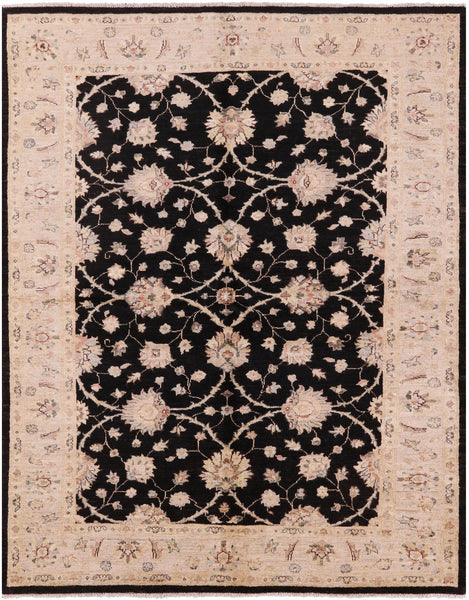 "Peshawar Hand Knotted Rug - 5' 9"" X 7' 2"" - Golden Nile"
