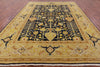 "Signed Peshawar Rug Vase Design - 9' X 11' 10"" - Golden Nile"
