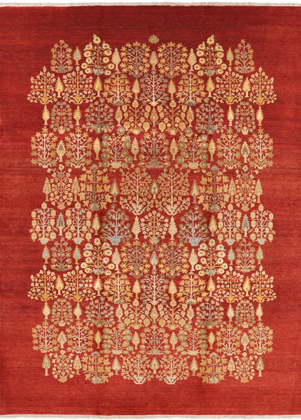 "Ziegler Hand Knotted Wool Area Rug - 8' 10"" X 12' 1"" - Golden Nile"