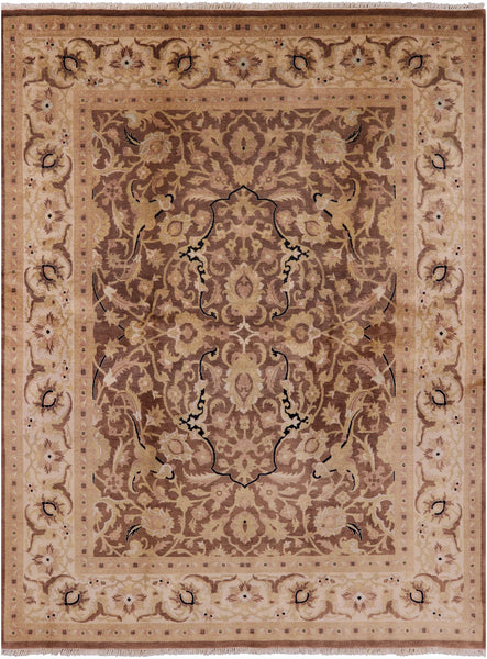 8 X 10 Peshawar Hand Knotted Rug - Golden Nile