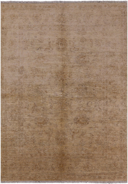 Peshawar Collection Oriental Rug 7 X 9 - Golden Nile
