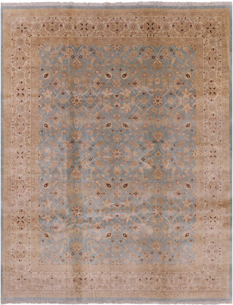 "Peshawar Hand Knotted Rug - 8' 1"" X 10' 2"" - Golden Nile"