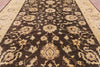 10 X 14 Brown Peshawar Oriental Rug -  Golden Nile