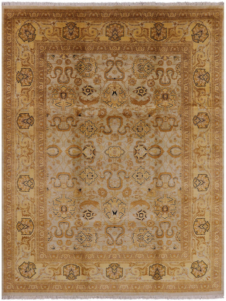 Oriental Collection Peshawar Rug 8 X 10 - Golden Nile