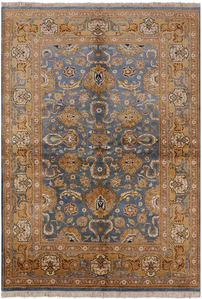 Oriental Peshawar Collection Rug 6 X 9 - Golden Nile