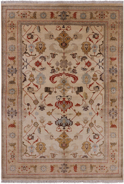 6 X 9 Peshawar Collection Oriental Rug - Golden Nile