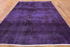 7 X 10 Purple Overdyed Hand Knotted Rug -  Golden Nile