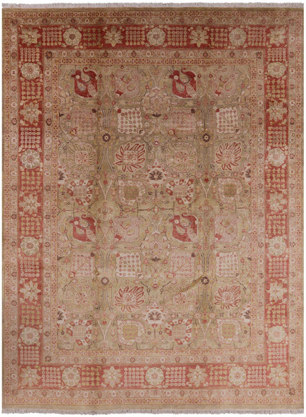 9 X 12 Peshawar Hand Knotted Rug - Golden Nile