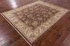 Oriental Peshawar Hand Knotted Rug 7 X 8 - Golden Nile