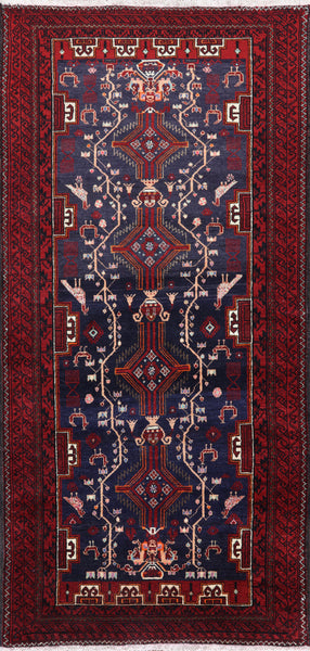 4 X 7 Persian Oriental Rug - Golden Nile