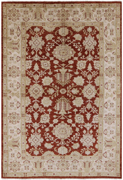 "Peshawar Area Rug - 6' 1"" X 8' 10"" - Golden Nile"