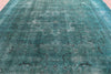 10 X 13 Hand Knotted Overdyed Wool Area Rug -  Golden Nile