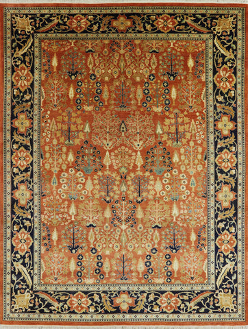 8 X 10 Traditional Ziegler Oriental Wool Area Rug