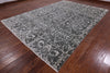 Art Deco Collection Wool & Silk Oriental Area Rug 9 X 12 - Golden Nile
