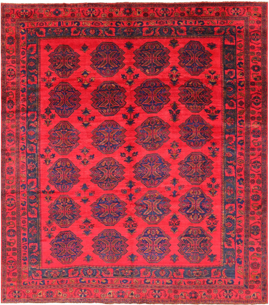 "Bokhara Wool On Wool Handmade Rug - 10' 9"" X 12' 2"" - Golden Nile"