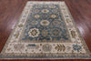 "Handmade Oushak Area Rug - 6' X 8' 11"" - Golden Nile"