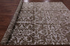 Modern Handmade Wool & Silk Rug - 8' X 10' - Golden Nile