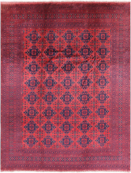 "Beljik Handmade Wool On Wool Rug - 9' 7"" X 12' 5"" - Golden Nile"