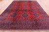 "Tribal Handmade Wool On Wool Rug - 9' 9"" X 12' 4"" - Golden Nile"