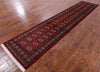 Silky Red Bokhara Runner 3 X 13 - Golden Nile