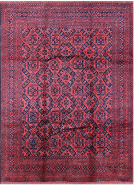 "Beljik Wool On Wool Rug - 8' 5"" X 11' 4"" - Golden Nile"