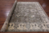 "Oushak Hand Knotted Rug - 8' 2"" X 9' 11"" - Golden Nile"