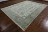 Turkish Oushak 9 X 12 Ivory Rug - Golden Nile