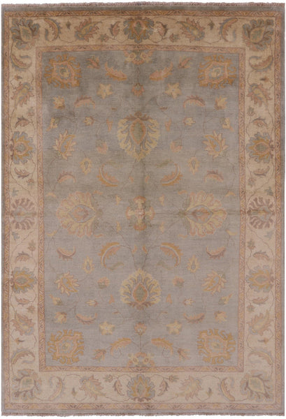 "Peshawar Hand Knotted Wool Rug - 5' 7"" X 8' 2"" - Golden Nile"